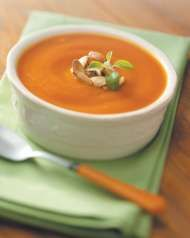 Crockpot pumpkin soup