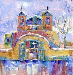 Santuario Snowfall by carol hagan