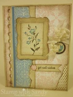 More Shabby Chic by stampwithsandy - Cards and Paper Crafts at Splitcoaststampers