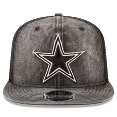Dallas Cowboys Men's New Era Gray Rugged Trucker 9FIFTY Snapback Hat – Dallas Sports Fan Shop