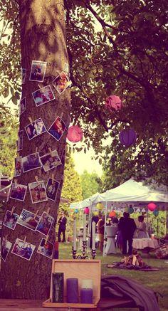 Die Rosenhochzeit als Gartenfest ferien. #Rosenhochzeit #Dekoration #Gartenfest Mehr