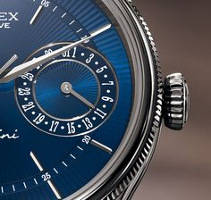 The Rolex Cellini Time displays elegance, tradition and poetry, showing on a single dial the current day, the days gone by and the days to come.