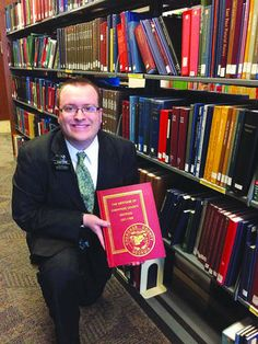 Connor Ensign found history books about Cherokee County in the Family History Library in Salt Lake City, Utah, where he served a two-year Mo... #genealogy