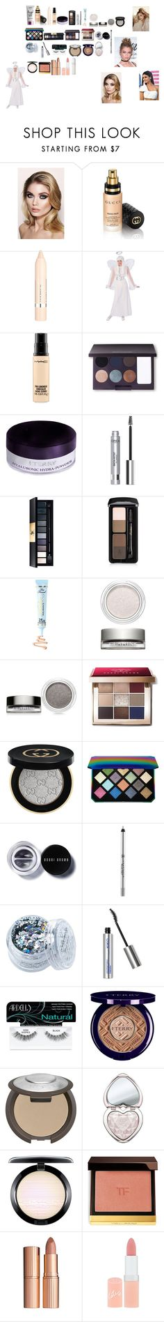 """Angel Inspired Makeup Halloween Series"" by hayleyjacksonuk ❤ liked on Polyvore featuring beauty, NYX, Charlotte Tilbury, Gucci, L'Oréal Paris, MAC Cosmetics, Laura Mercier, By Terry, John Lewis and Guerlain"