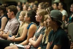 Award-winning sex education activist, Laci Green spoke to hundreds of students as part of the college's RAINN — Rape, Abuse and Incest National Network — Week held each year to raise awareness about preventing sexual assault.