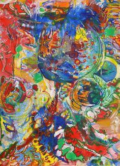 "Saatchi Art Artist Igor Eugen Prokop; Painting, ""OZONE LAYER DEPLETION"" #art"