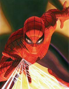 Visions: Spider Man by Alex Ross. Available for purchase at artinsights.com