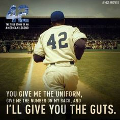 """42 The True Story of an American Legend"" (The Jackie Robinson Story)"