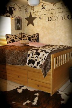 Western Girls Bedroom Julie Pickles Interior Designer 805.740.0232