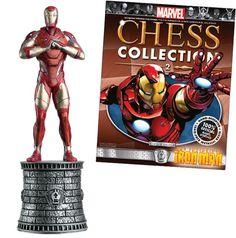 Iron Man chess piece