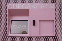 Now you can celebrate your birthday everyday with NYC's newly opened Sprinkles Cupcake ATM!