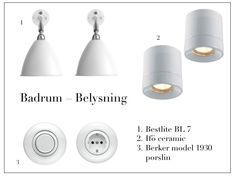 Belysning till badrum Lightning, Ceiling Lights, Bathroom, Google, Home Decor, Bath, Washroom, Decoration Home, Room Decor