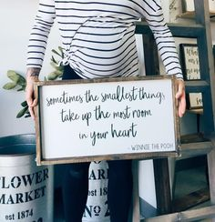 Pregnancy Announcement | Pregnancy Photo | Maternity Photo | Nursery Decor | Nursery Inspo | Nursery Design | Nursery Ideas | Baby Room | Baby Shower | Rustic Nursery | Fixer Upper | Farmhouse Sign | Farmhouse Decor | Pallet Sign | Reclaimed Wood | DIY | Pallet Art | Rustic Sign | Rustic Home Decor | Quote Sign | Bedroom Decor | Shabby Chic | Pallet Crafts | Home Decor | Wood Sign | Farmhouse | Farmhouse Sign | Farmhouse Decor