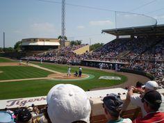 Marchant Stadium - Lakeland, FL TIGER BASEBALL!!