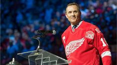 Spread the love It seems previous Red Wings captain Steve Yzerman is returning home. Friday morning, The Detroit Red Wings reported it will hold a press conference Friday at Little Caesars Arena with owner Chris Ilitch, general manager Ken Holland. Johan Franzen, Jimmy Howard, Lebron Kobe Jordan, Steve Yzerman, Joe Louis, Nhl Games, Red Wings Hockey, Twitter Trending, Latest Sports News