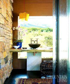 Aspen modern Mountain Homes | Found on blog.mountainliving.com