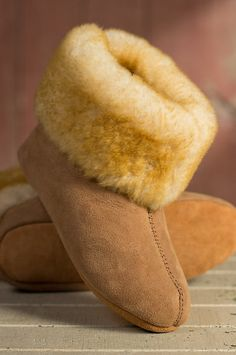 54ab61a5031 Women s Overland High-Top Sheepskin Slippers Wear them high or roll them  down. Our plush high-top slippers insulate you from drafty winter floors  and keep ...