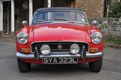MGB Roadster Red For Sale (1973) on Car And Classic UK [C377687]