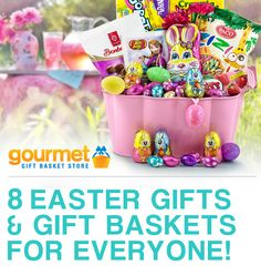 Gourmet gift basket store business photos easter gift baskets with easter is just one hop away we have 8 new gift basket ideas that makes a great easter surprise for all your family negle Choice Image