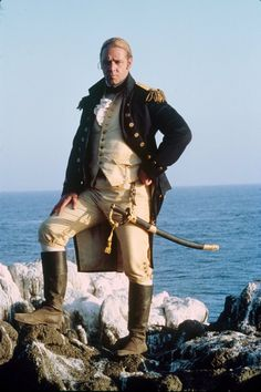 Russell Crowe as Jack Aubrey in Master and Commander