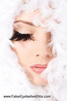 Feather False Eyelashes