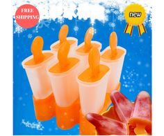 6 Cell Frozen Ice Cube Molds