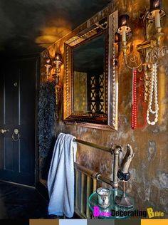 bohemian style interior design gypsy home how to better decorating . Bohemian Bathroom, Bohemian Kitchen, Gypsy Style, Bohemian Style, Bohemian Gypsy, French Bohemian, Boho Chic, Shabby Chic, Interior Bohemio