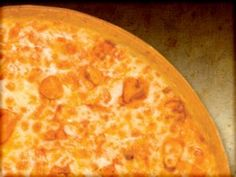 Pizza Ranch: BUFFALO CHICKEN  Chicken, Hot Sauce, Ranch Dressing, Two Cheeses