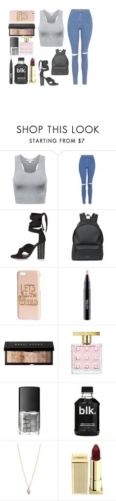 """Hustler Is Back // Fally Ipupa"" by loverxofxfood ❤ liked on Polyvore featuring Topshop, Givenchy, H&M, MAC Cosmetics, Bobbi Brown Cosmetics, Michael Kors, NARS Cosmetics, Minor Obsessions, Lipstick Queen and HUSTLERISBACK"