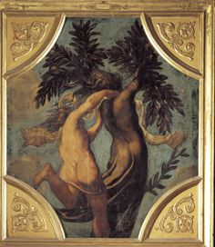 Daphne and Apollo by Tintoretto