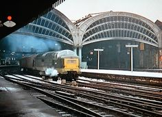 Deltic Away by colinfpickett, via Flickr Electric Locomotive, Diesel Locomotive, Steam Locomotive, E Electric, Electric Train, Train Posters, Abandoned Train, Train Engines, British Rail