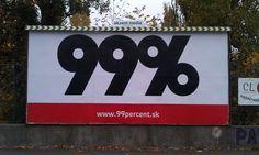 Šokujúce: 99 percent má najnákladnejšiu mediálnu kampaň pred voľbami... NOT!