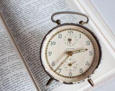 Vintage Alarm Clock Junghans German Clock von TheThingsThatWere