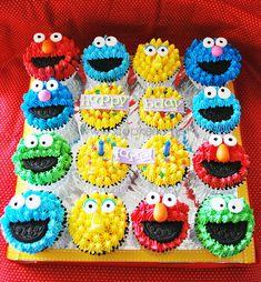 Sesame Street cupcakes set 1 | Flickr - Photo Sharing!