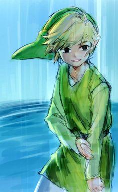 Chibi Midna by The Legend Of Zelda, Legend Of Zelda Breath, Wind Waker, Ben Drowned, Image Zelda, Nintendo, Fan Art, Twilight Princess, Image Manga