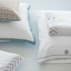 Discover luxury duvet covers and shams from Serena & Lily and find the perfect bedding for your master and guest bedrooms. Modern Pillows, Serene Bedroom, Perfect Bedding, Fresh Linen, Duvet, Shams, Bed, Bed Pillows, Duvet Covers
