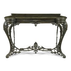 english furniture | sotheby's A Victorian Coalbrookdale cast-iron console table circa 1850 The 1st Industrial Revolution in England began at Coalbrookdale in Shropshire West Midlands