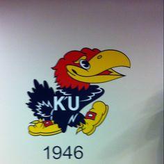 1946 Jayhawks State Of Kansas, University Of Kansas, U Rock, Sports Wallpapers, Kansas Jayhawks, Funny Cartoons, Basketball, Spaces
