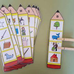 Preschool phonics - Identification of the initial sound of the word Orientacion Andujar Preschool Phonics, Jolly Phonics, Preschool Letters, Preschool Learning, Learning Activities, Preschool Activities, English Activities, Alphabet Activities, Community Helpers Preschool