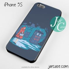 Red Riding Hood Doctor who Phone case for iPhone 4/4s/5/5c/5s/6/6 plus