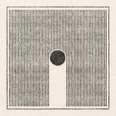 'Lines/Circle' Print – Real Fun, Wow!
