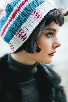 a37fb64d231 Duplicate Hat by Amy Depew  Inside Crochet issue 38  Tunisian Crochet