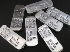 Gold And Silver Coins, Silver Bars, Buy Gold Online, Silver Investing, Silver Ingot, Pirate Treasure, Silver Bullion, Precious Metals, Silver Color