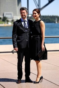 Noblesse & Royautés:  Crown Prince Frederik and Crown Princess Mary in Sydney