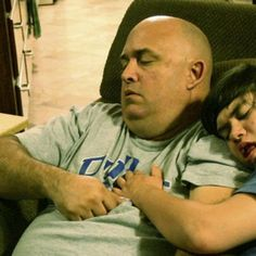 Every Night This Dad Falls Asleep In Front Of The TV. There's A Beautiful Reason Why. A young woman decided to tell the story of why her Dad is awesome. Hit the play button on the bottom left corner of the photo below to find out why. http://www.upworthy.com/every-night-this-dad-falls-asleep-in-front-of-the-tv-theres-a-beautiful-reason-why