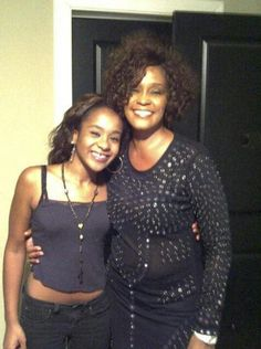 Whitney Houston and daughter, Bobbi Kristina