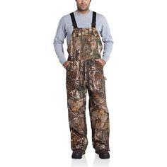 Carhartt Men's Realtree Xtra Quilt Lined Camo Bib Overall