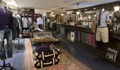 I need to go here, J Crew's Liquor Store in New York... They literally took an old liquor store and turned it into the ultimate selection of #menswear