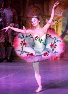 um... this pretty tutu just might be for the rose adagio? : )