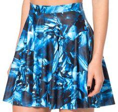 Raisevern new fashion 3D galaxy skirt mini summer skirt faldas galaxy women's skirt casual pleated skirts wholesale and retail